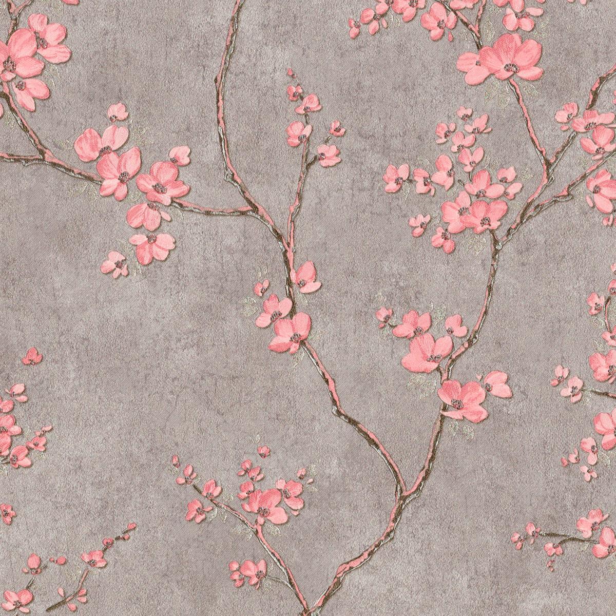 Обои с цветами сакуры в интерьере фото